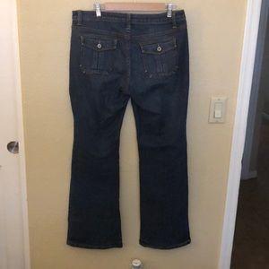 Size 12  a.n.a. Jean boot cut (j030)
